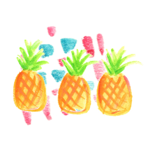 Two Selling Sisters Pineapples